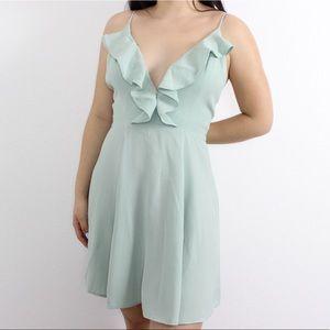 Privacy Please Mint Green Dress